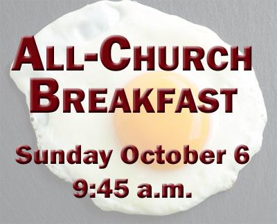 All Church Breakfast